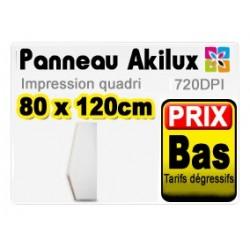 Panneau publicitaire akilux 80x120cm