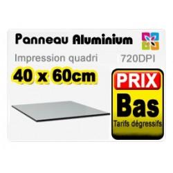 Panneau aluminium 40x60cm