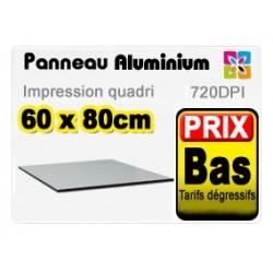 Panneau aluminium 60x80cm