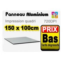 Panneau aluminium 150x100cm