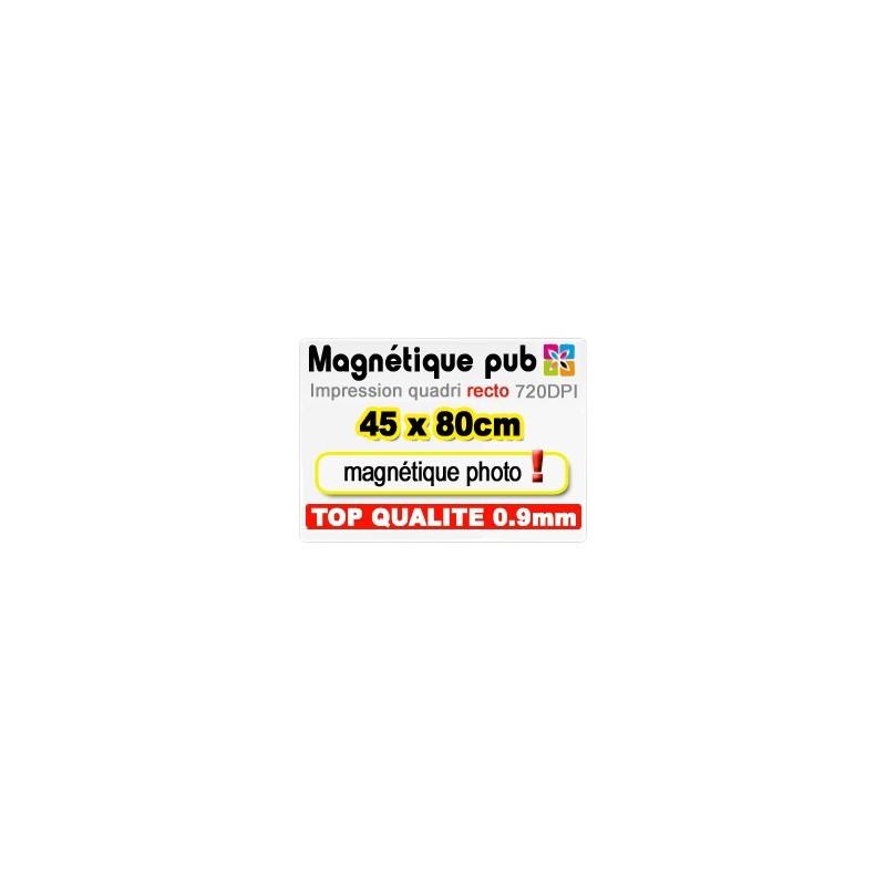 Magnétique publicitaire 45x80cm